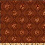 EQ-591 Decadence Damask Brown