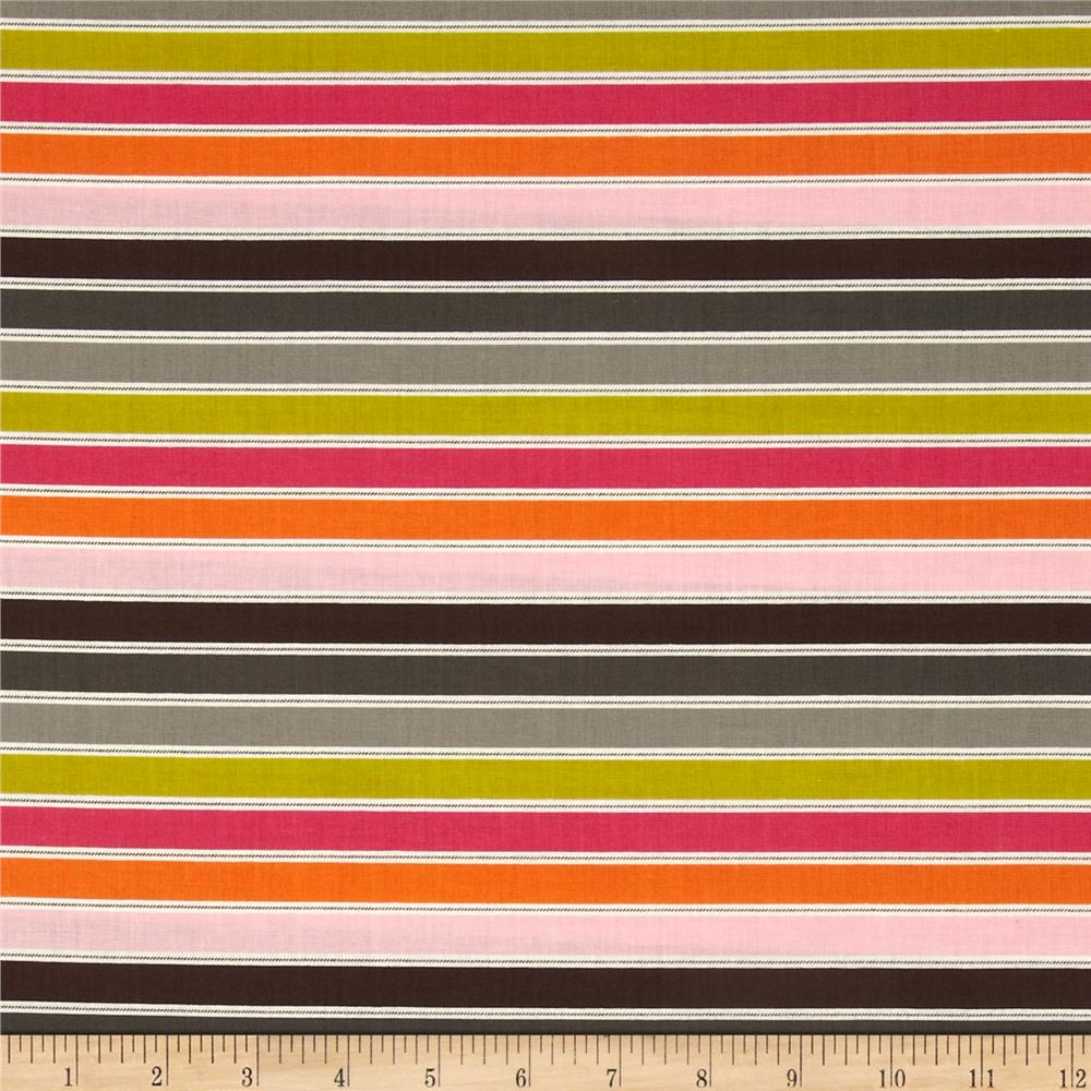 Hot Chocolate Horizontal Stripe Multi