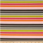 209892 Hot Chocolate Horizontal Stripe Multi