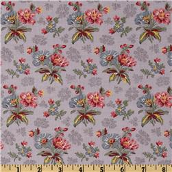 Moda Collection For A Cause Mill Book Series circa 1835 Bouquet Lavender