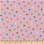 225048 Kaufman Celebrate Seuss 2 Dots Pink