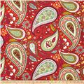 Robert Allen Crypton Art Paisley Poppy