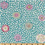 Kaffe Fassett Guinea Flower Turquoise