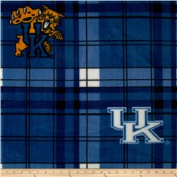 Collegiate Fleece University of Kentucky Fleece Plaid Blue