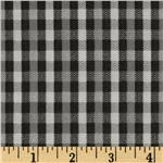 Plaid Dark Grey/Black
