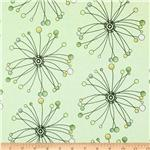 0268778 Alchemy Abstract Flower Stem Yellow