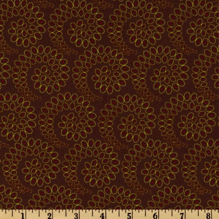 Silk Road Spirals Brown