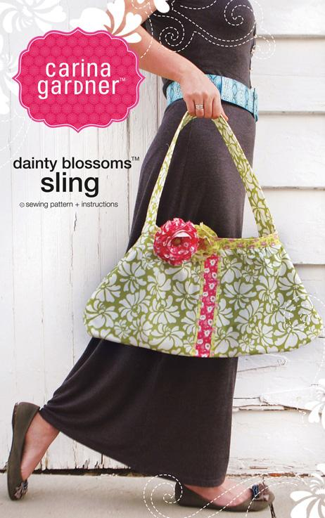 Carina Gardner Dainty Blossoms Sling Pattern