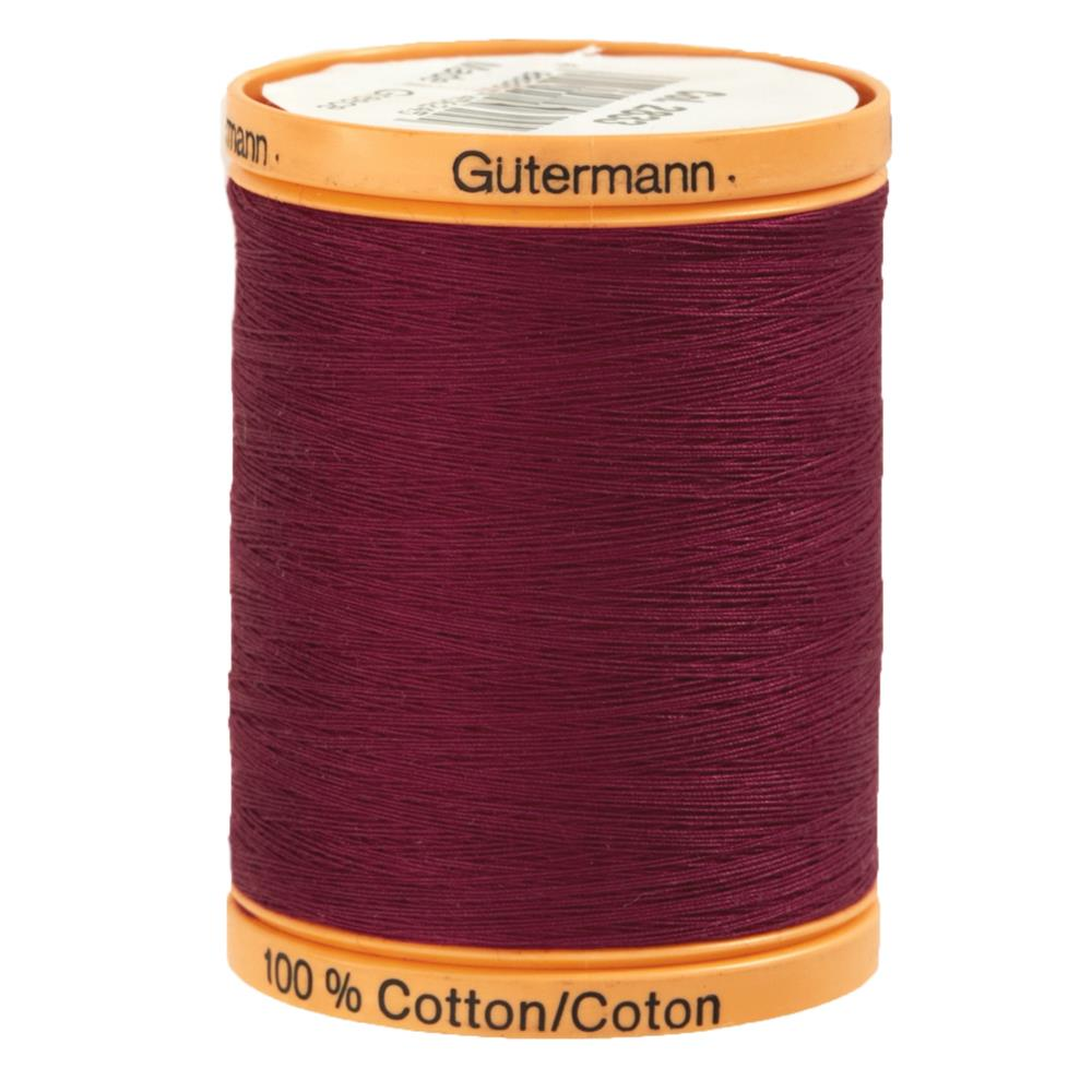 Gutermann Natural Cotton Thread 800m/875yds Berry