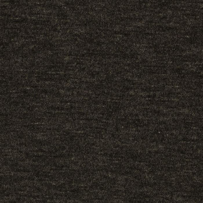 Stretch Rayon Jersey Knit Heather Charcoal