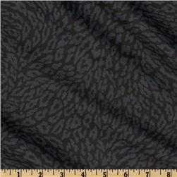 Leopards Skin Black