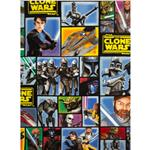 0262634 Star Wars The Clone Wars Fleece Blue