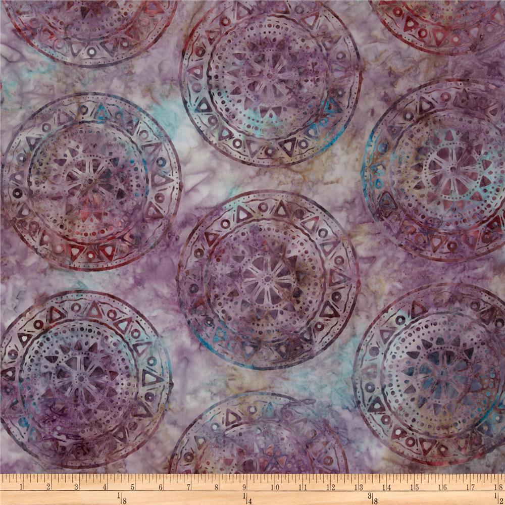 Artisan Batik Sante Fe Trail 3 Sunset Purple