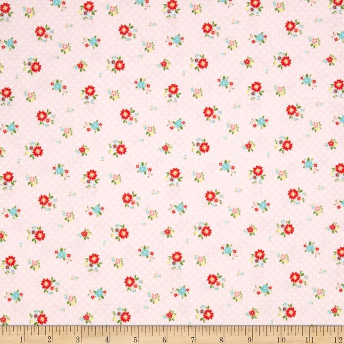 Riley Blake The Simple Life Simple Floral Pink