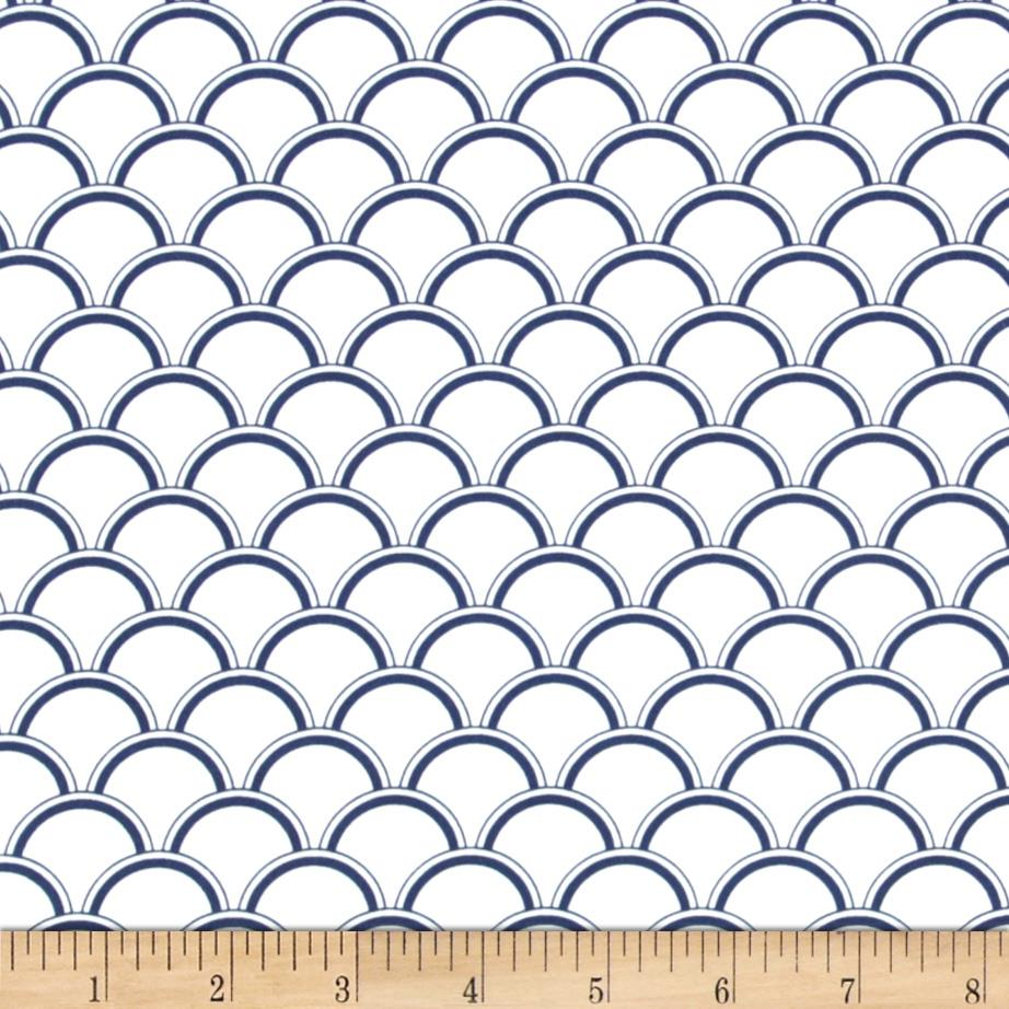 Michael Miller Bekko Home Decor Bekko Navy