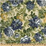 UO-995 Maco Indoor/Outdoor Garden Scroll Delft