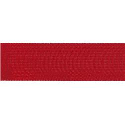 "Team Spirit 1"" Solid Trim Scarlet"