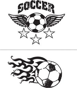 Simply Screen Silk Screen Stencil Soccer