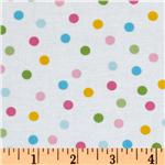 UN-919 Remix Slicker Laminated Cotton Polka Dots Pastel