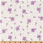 DV-494 Floral Eyelet Lilac