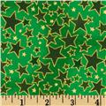 Christmas Basics Stars Green
