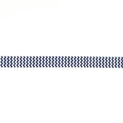 "Riley Blake 7/8"" Grosgrain Ribbon Chevron Navy"