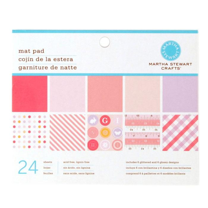 Martha Stewart Crafts Mat Pad 4 3/4&quot; X 6 3/4&quot; Baby Girl