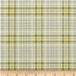 0286189 Nature's Etchings Shirting Plaid River Green