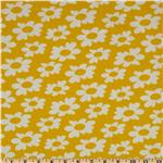 Premier Prints Wild Flowers Twill Yellow