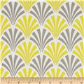 Design Studio Deco Fans Yellow Gray