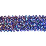 "HDDR-1366 1 1/2"" Stretch Starlight Sequin Trim Lavender"