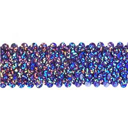 "1 1/2"" Stretch Starlight Sequin Trim Lavender"