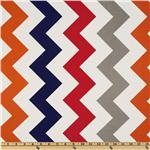 Riley Blake Chevron Large Red/Boy