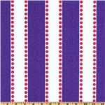 DY-723 Premier Prints Lulu Stripe Candy Purple/Candy Pink
