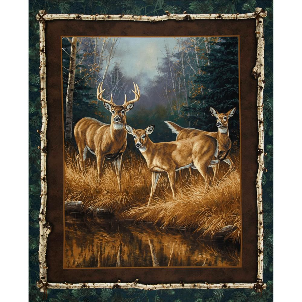 Unknown Intruder Portrait Panel Green/Brown