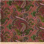 Premier Prints Paisley Candy Pink/Green