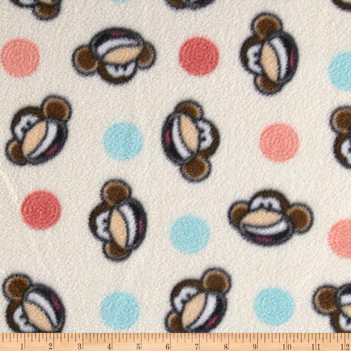Babi Jack Fleece Babi Spiral Cream Multi