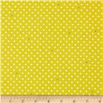 0298938 Cynthia Rowley Paintbox Pin Dot Citron