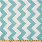 FT-376 Riley Blake Chevron Large Aqua
