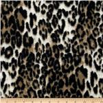 0283152 Luxury Minky Cuddle Jaguar Taupe/Black