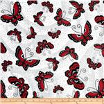 0268366 Night and Day 4 Butterfly Red