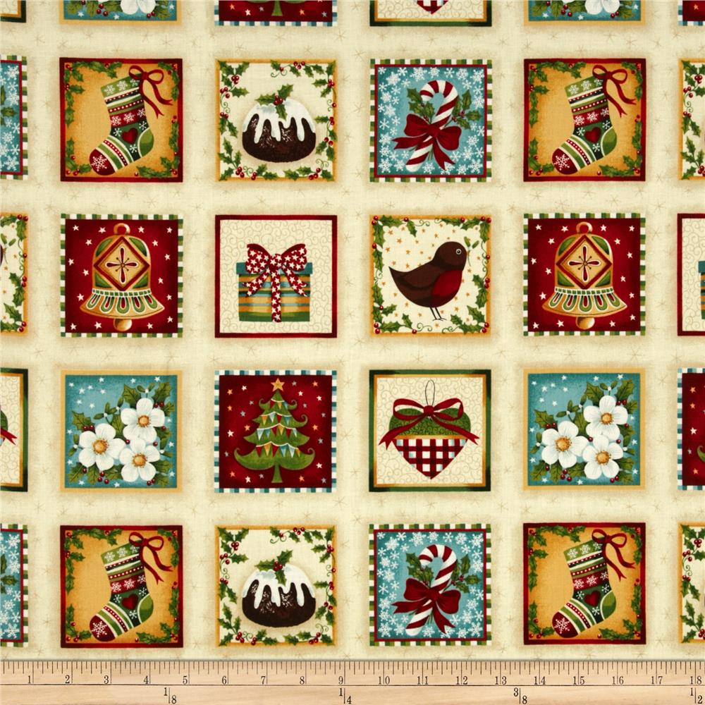 Yuletide Labels Multi
