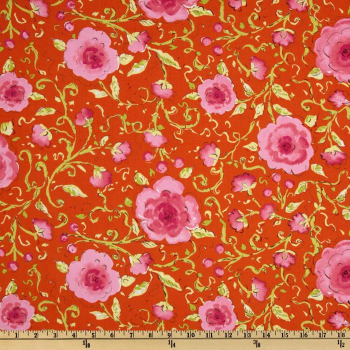 Pretty Little Things Sophia Floral Orange