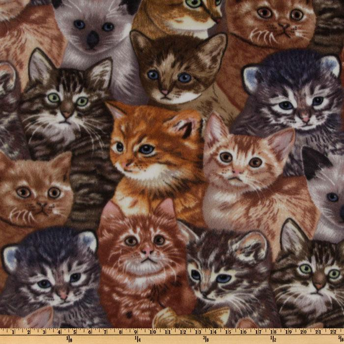 WinterFleece Kittens Multi