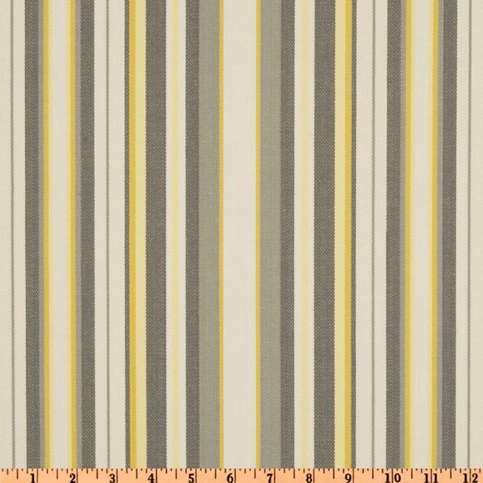 Suburban Home Nalani Stripe Grey/Lemon