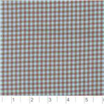 Woven 1/8&#39;&#39; Cotton Gingham Blue/Brown