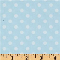 Brights & Pastels Basics Aspirin Dot Light Blue
