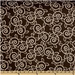 UR-959 Premier Prints Trellis Chocolate/Natural
