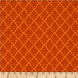Moda Bobbins & Bits Stacked Fabrics Tangy Orange