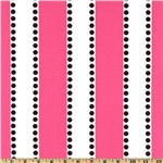 UG-897 Premier Prints LuLu Stripe Candy Pink/Black